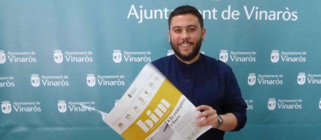 L'Ajuntament de Vinaròs crea un Butlletí d'Informació Municipal