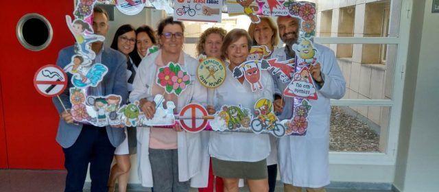 Dia Mundial sin Tabaco Hospital la Plana y Hospital Vinaròs