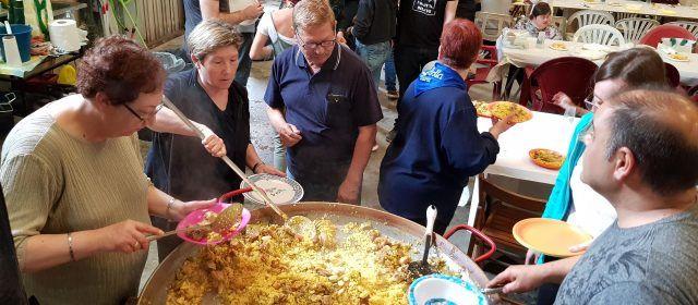 Paella per a assemblea carnavalera