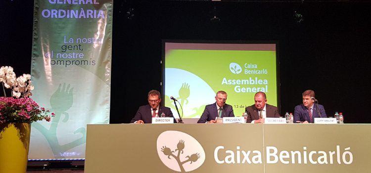 Caixa Benicarló creix un 6,3 per cent i destina 214.000 euros a obra social
