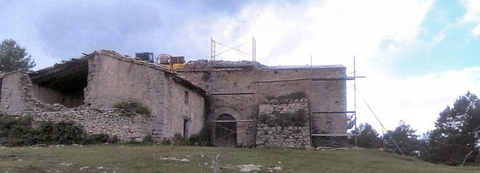 """El románico de Reconquista """"renace"""" en Els Ports con la supervivencia de la ermita de S. Águeda"""