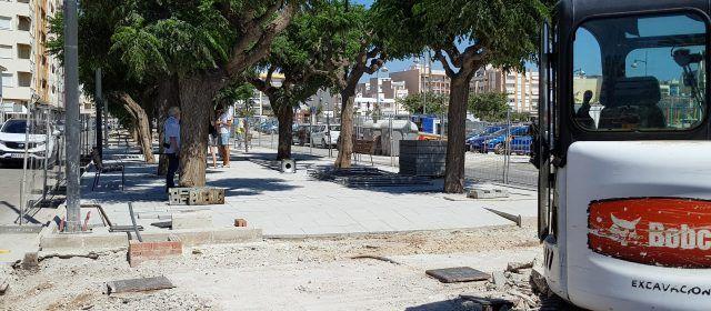 Acaba la primera fase de la avenida Jaume I de Vinaròs