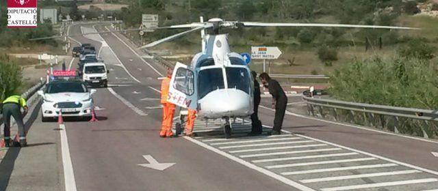 Dos heridos en accidente en La Jana