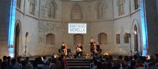 L'Early Music Morella ofereix packs turístics per a endinsar-se en l'època medieval del festival