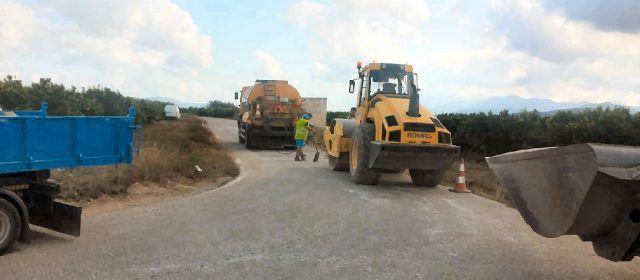 Vinaròs millora el deteriorat Camí Arbolí