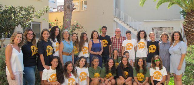 19 joves participen en els camps de voluntariat al Centre Geriàtric i la Residència Sant Francesc