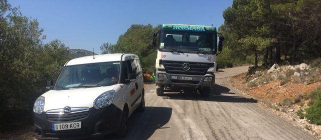 Arranquen les obres de millora del camí Sta.Magdalena-Salzadella