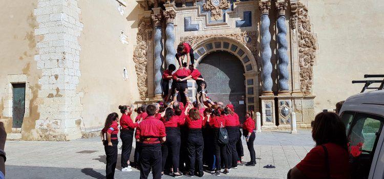 Vinaròs i Xàtiva, unides per la Muixeranga