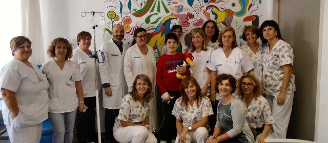 El Hospital de Vinaròs colabora en una iniciativa social sobre la mucopolisacaridosis pediátrica