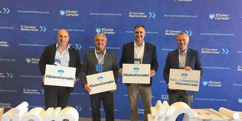 Benihort apoya en Barcelona el Corredor Mediterráneo