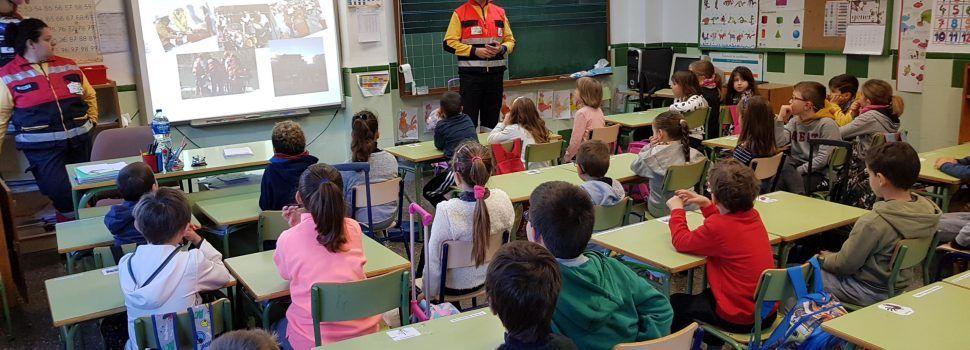 Com actuar en una emergència, al CEIP Assumpció de Vinaròs