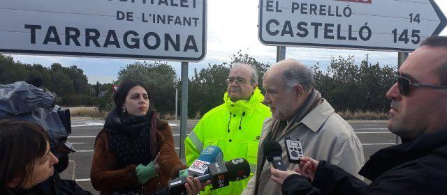 Foment comença les obres de cinc noves rotondes a la N-340 al sud de la província de Tarragona