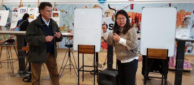 El Carnaval ensenya com escriure en xinés