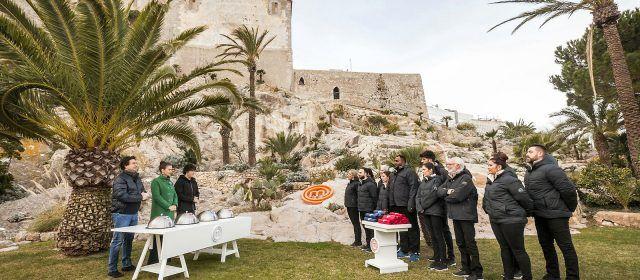 Masterchef promociona desde Peñíscola el turismo y la gastronomía de la provincia Castellón