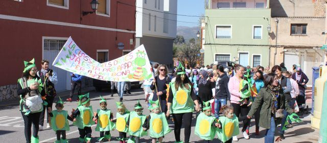 Desfilada de Carnestoltes del CEIP Albert Selma i la Ludoteca Municipal de S.Magdalena