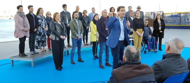 El PP de Vinaròs presentà la seua candidatura amb diverses cares noves