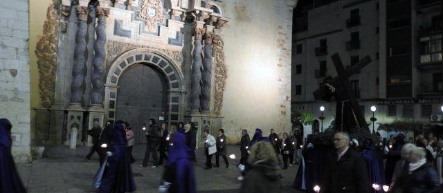 """Vinaròs """"procesiona"""" en Semana Santa"""