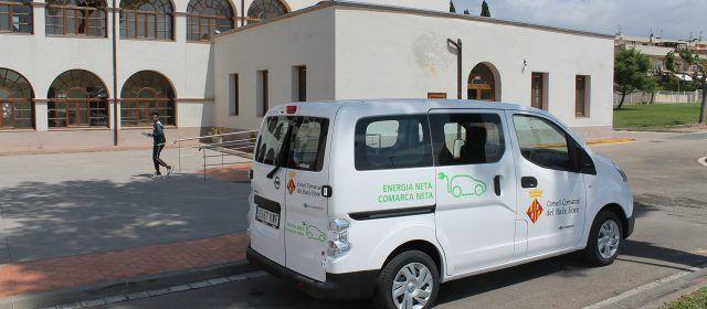 El Consell Comarcal del Baix Ebre incorpora el primer vehicle elèctric al seu parc mòbil