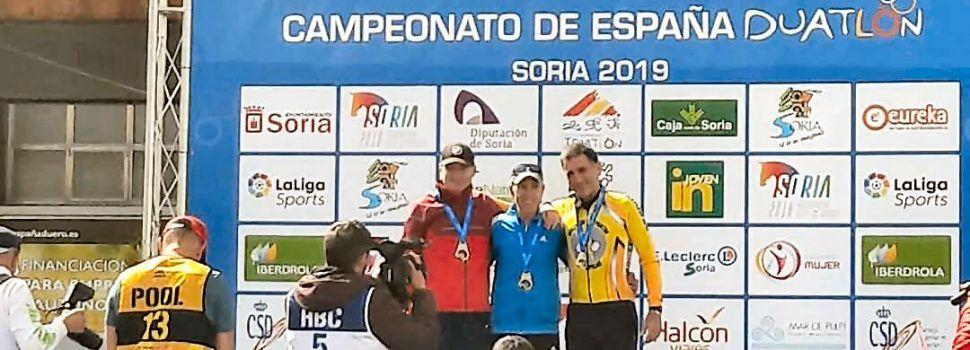 El vinarocense Sebastián Quixal, campeón de España de duatlón en su categoría