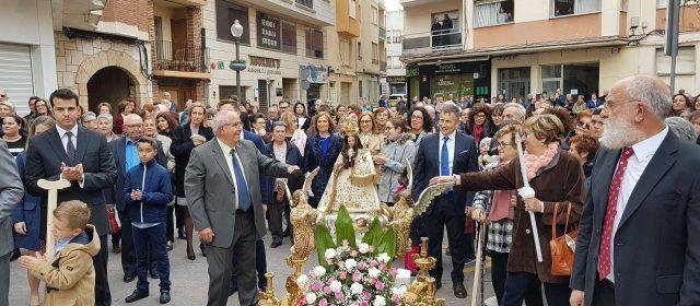 Vinaròs acabó la Semana Santa con la Procesión del Encuentro