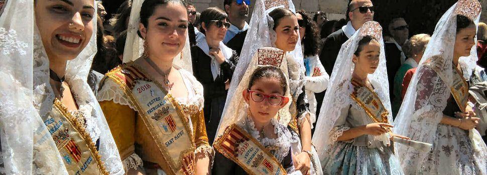 L'ermita de Sant Mateu, plena de pelegrins
