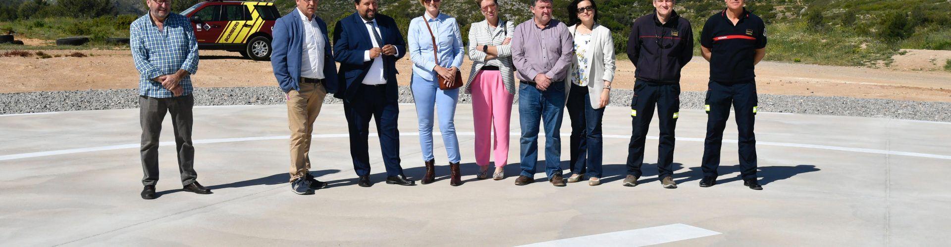 La Diputación hace de Castellón una de las provincias más seguras en respuesta de emergencias con las helisuperficies