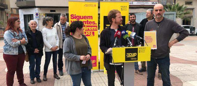 Presentació del lema de campanya i prgorama de la CUP TORTOSA