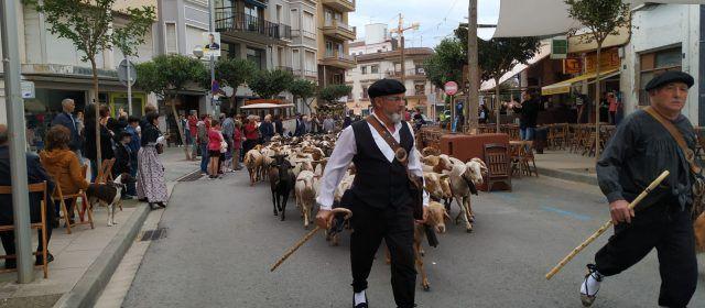 Festa del mercat a la plaça a Amposta