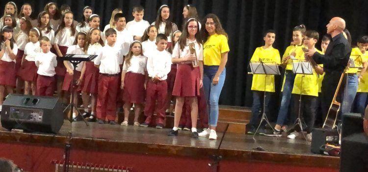 Intercanvi de cantaires escolars de Traiguera i Vinaròs