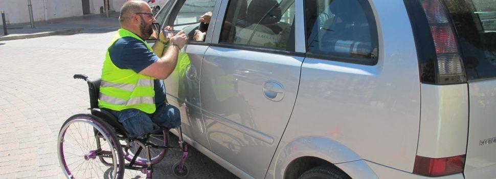 Benicarló sensibilitza sobre la necessitat de portar el cinturó de seguretat