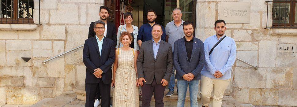 El conseller Martínez Dalmau: el primer a venir a Vinaròs de la nova legislatura