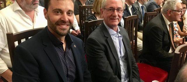 L'alcalde de Vinaròs ha assistit a la constitució del nou Govern Provincial