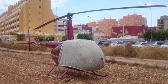 """El """"misterio"""" del helicóptero de Peñíscola"""