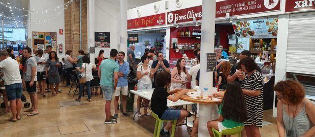 Mercat de tapes i mercat pirata a Vinaròs