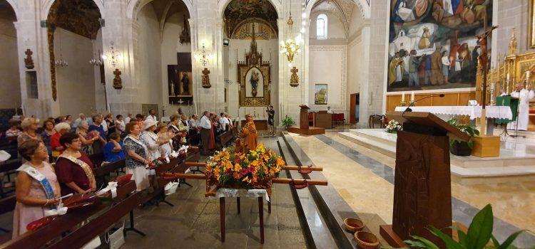 Els jubilats de Vinaròs celebren S.Joaquim i S.Anna