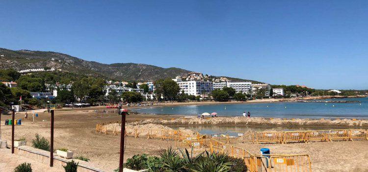 La Conselleria amplia la presa de mostres per poder obrir al bany Les Fonts d'Alcossebre