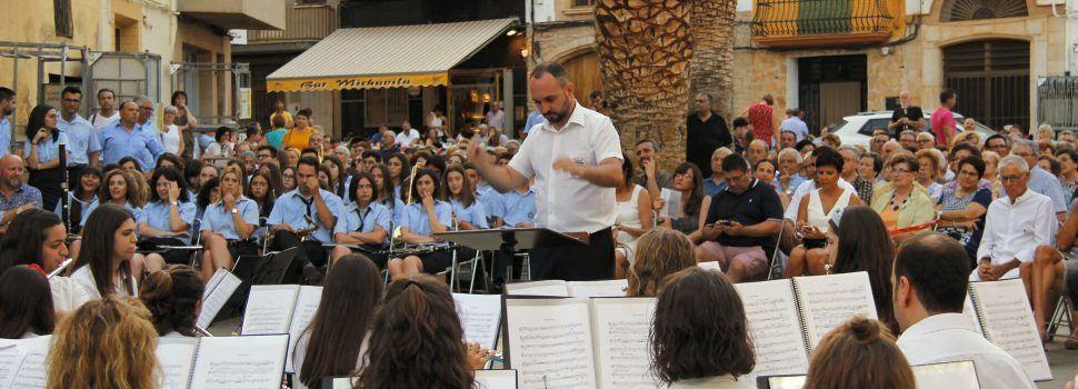 Concert conjunt de les bandes de Canet i Traiguera