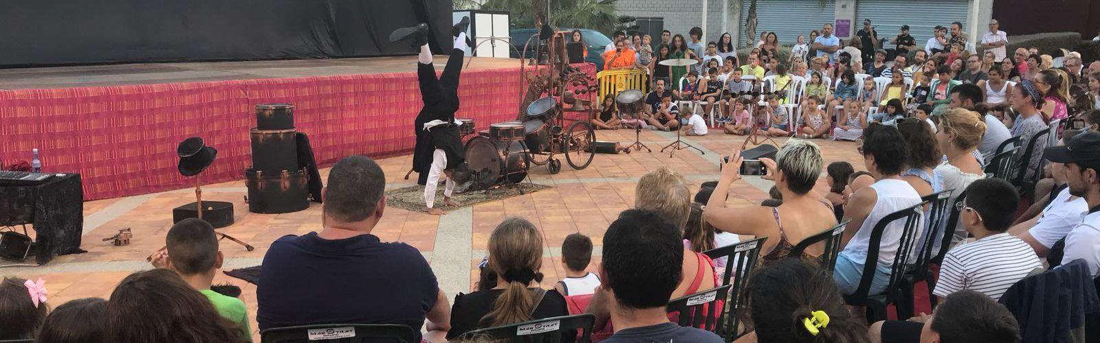 Alcalà-Alcossebre obre la seua programació d'agost amb el festival de circ Babakus