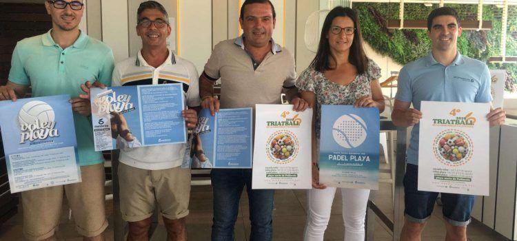 Peníscola acull el 4t Triatball de la Comunitat Valenciana