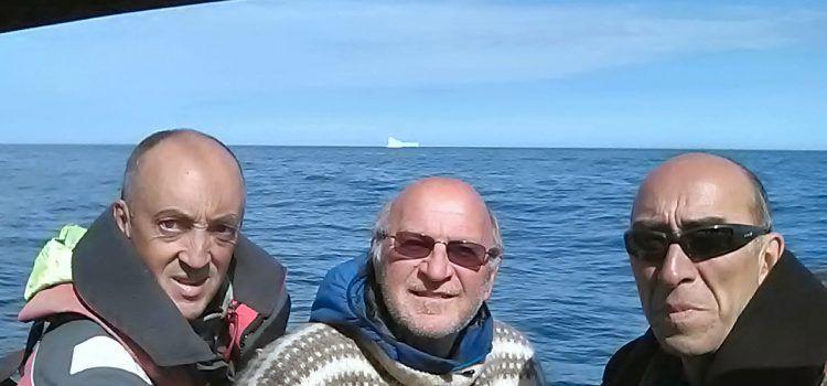 Dos integrantes del Club Nàutic Vinaròs recorren más de 1.700 millas, avistando calderones, orcas, icebergs…