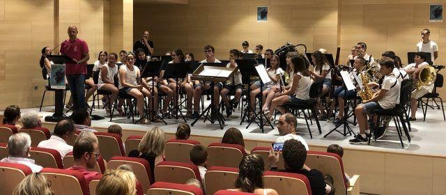 Les Bandes infantils de Santa Magdalena i Vinaròs unides per la música