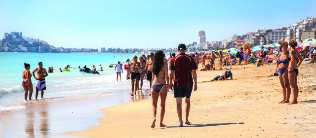 Peníscola supera el 90% d'ocupació turística el mes de juliol
