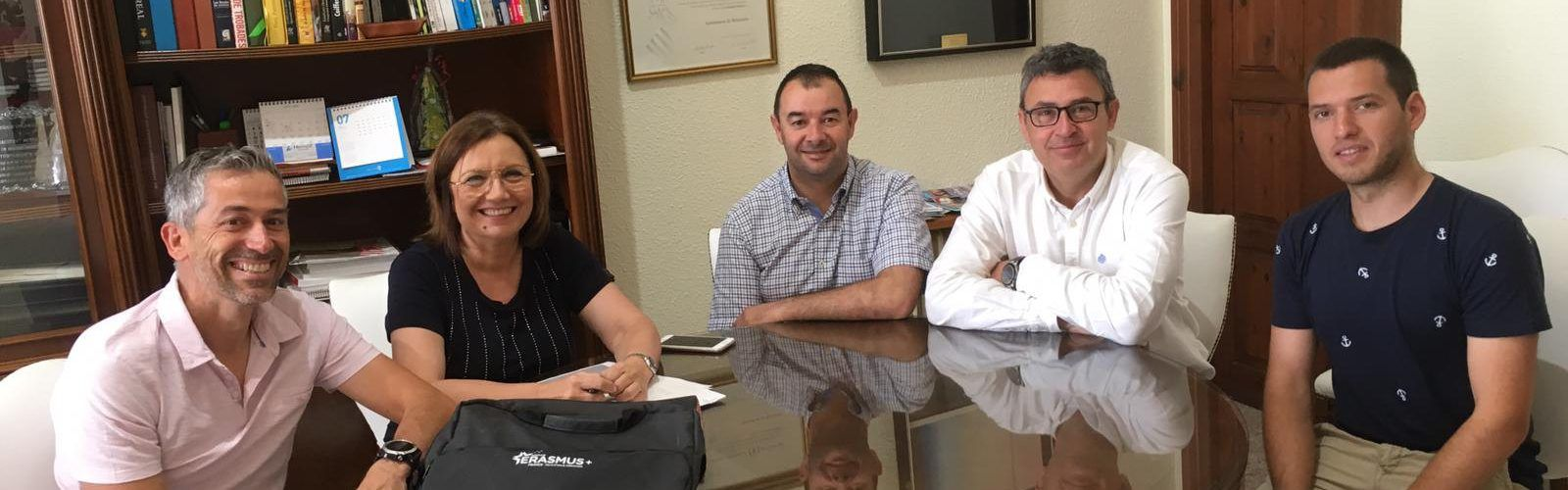 Benicarló s'adherirà a l'Erasmus per a acollir estudiants en pràctiques de Bédarieux