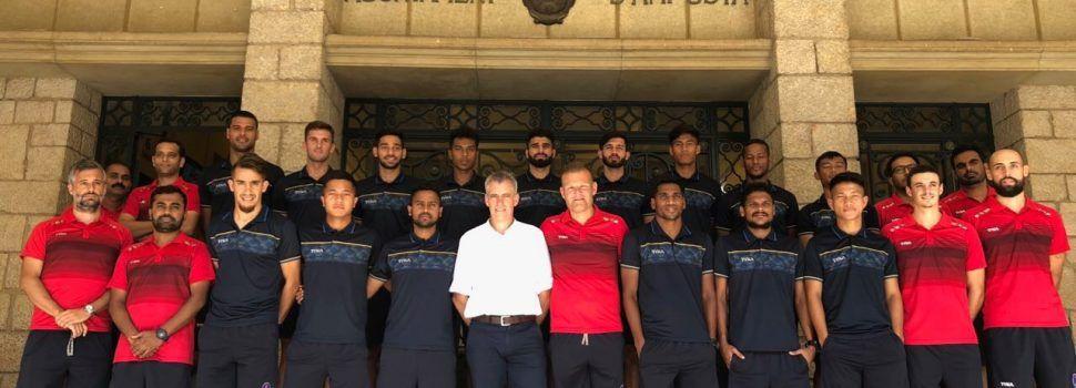 El Delhi Dynamos FC de Josep Gombau fa la pretemporada a Amposta