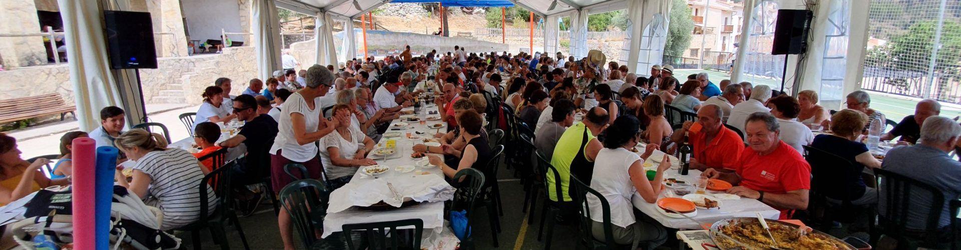 Una colla de Vinaròs cuinà la millor paella de Vallibona