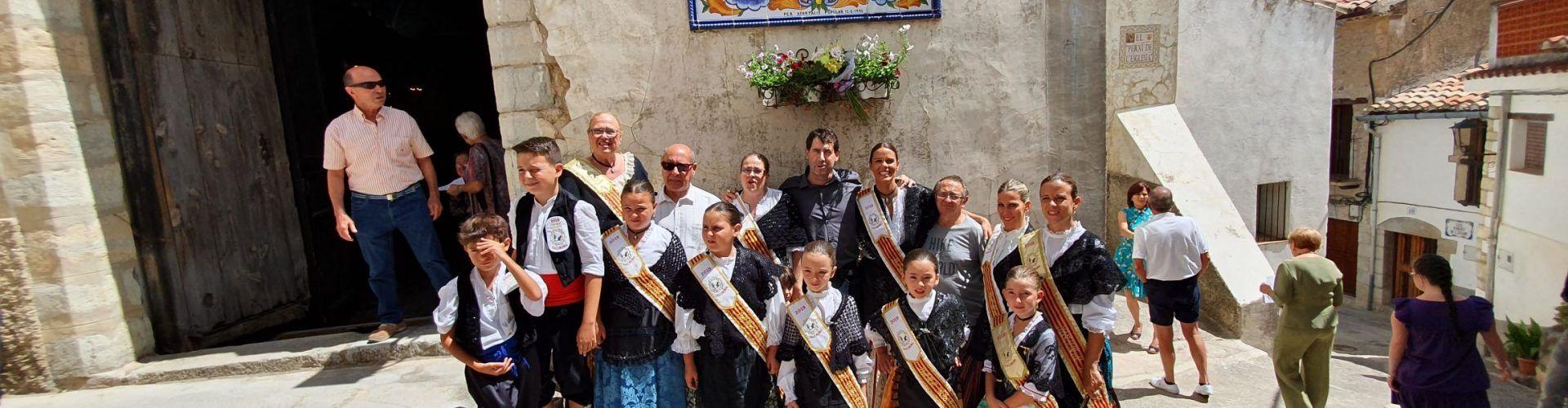 Vallibona honra la patrona de Pena-roja de Tastavins