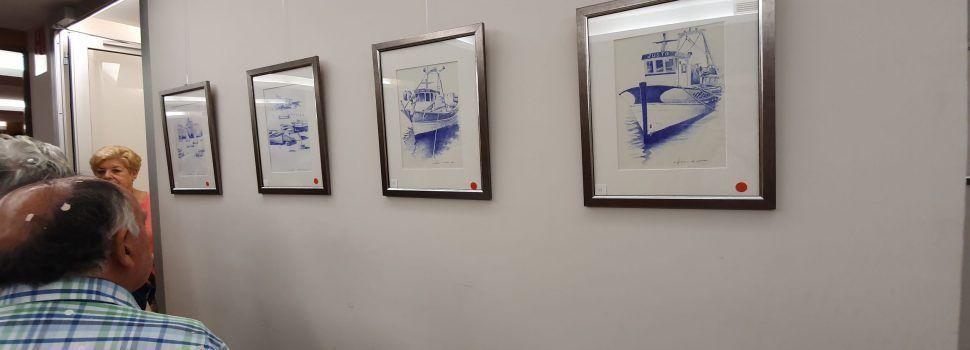 L'exposició-homenatge de J.Antonio Caldés, a Benicarló, en fotos