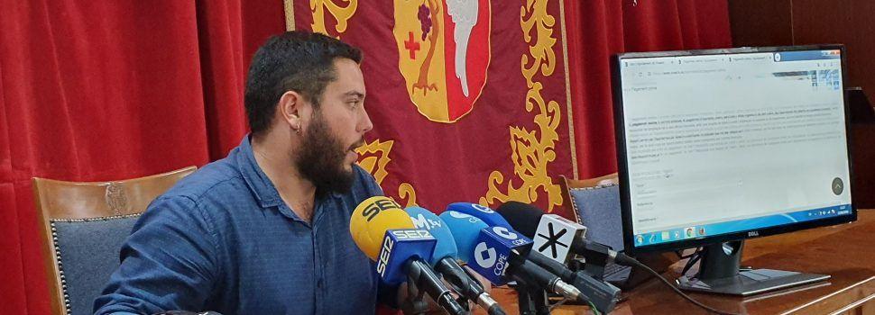 Roda de premsa del regidor Hugo Romero de Vinaròs