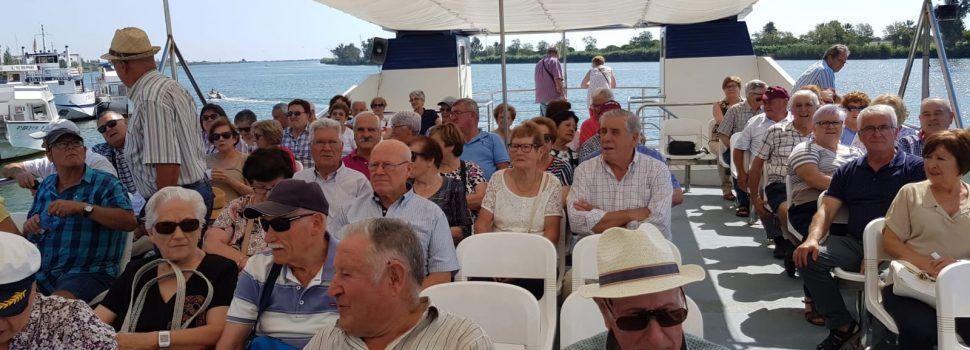 Els jubilats de Vallibona volten pel Delta de l'Ebre