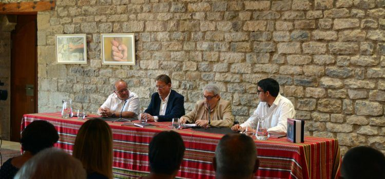 Manuel Milian presenta a Morella el seu llibre dedicat aXimo Puig